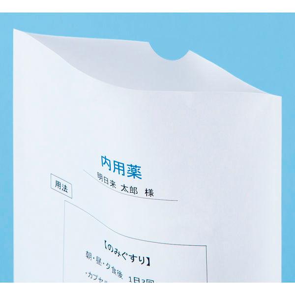 シンリョウ プリンター薬袋/B6R/無地 500302 1箱(2000枚入)
