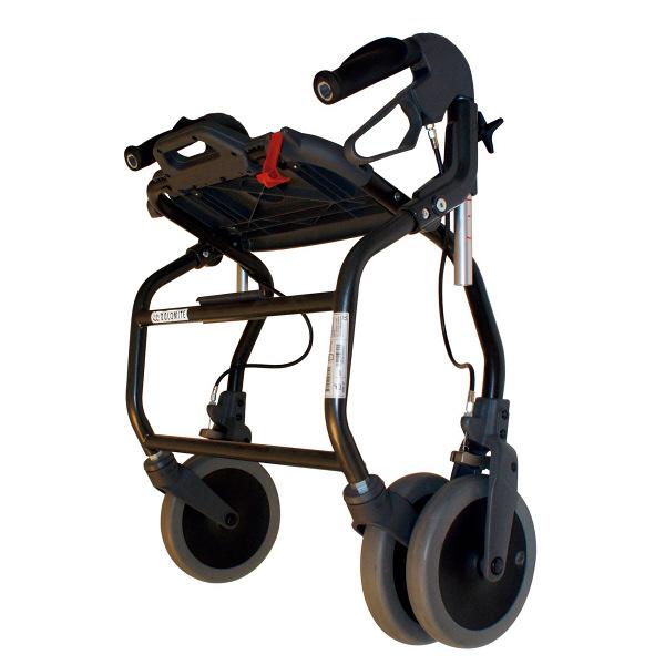 歩行車 ラックヘルスケア オパルブラック 4500 小サイズ (取寄品)