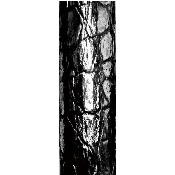 島製作所伸縮ジョイントレザーステッキ 69-NL2 ブラック (取寄品)