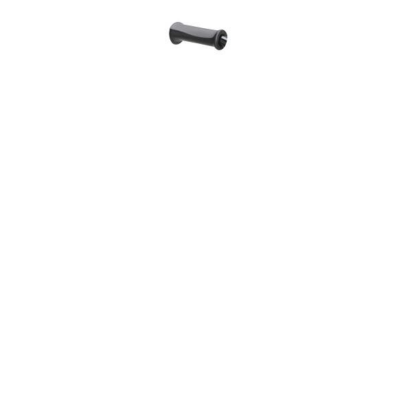 4点支持杖フィットグリップ(オールアルミ製) T-2802-3 パイプ:ブラック グリップ:グレー テツコーポレーション 4点杖 (取寄品)