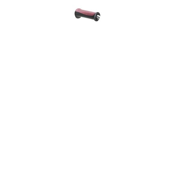 4点支持杖(4点杖)フィットグリップ(オールアルミ製) T-2803-1 パイプ:シルバー グリップ:ブラウン テツコーポレーション (取寄品)