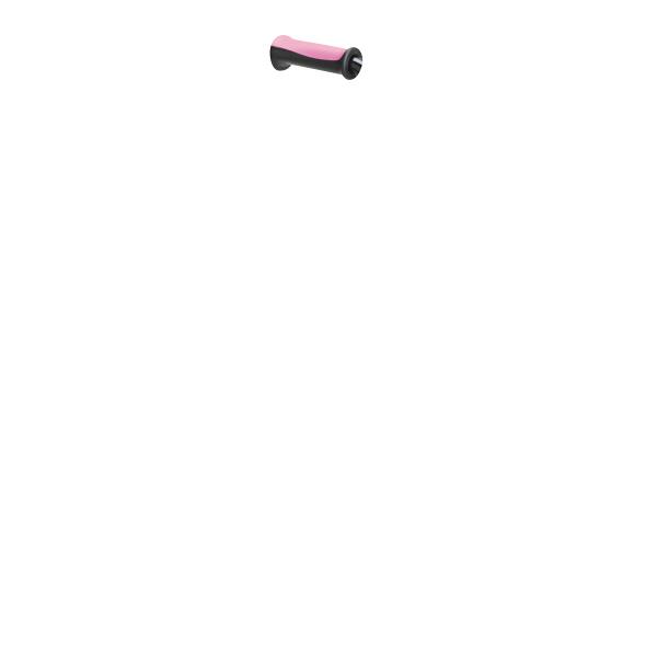4点支持杖フィットグリップ(オールアルミ製) T-2803-4 パイプ:シルバー グリップ:ピンク テツコーポレーション 4点杖 (取寄品)