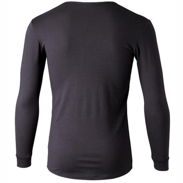 インナーシャツ ホットシャツ Vネック 9分袖 メンズ L フットマーク (取寄品)