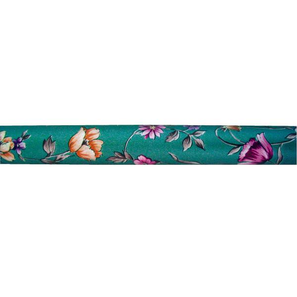 モリトピッタリステッキ HC-1005 花柄ブルーグリーン (取寄品)