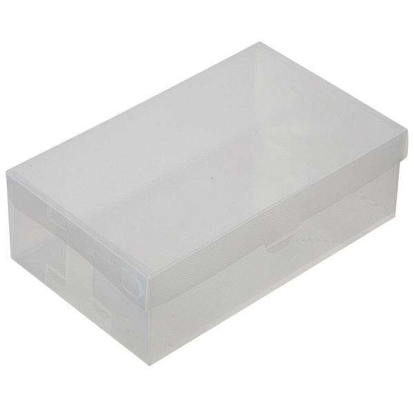 くつ収納クリアBOX 3枚組