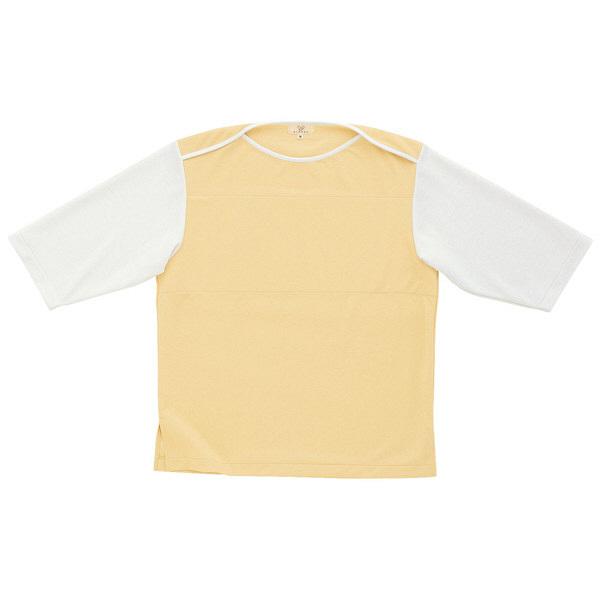 トンボ キラク 検診用シャツ ベージュ M CR820-28 1枚  (取寄品)