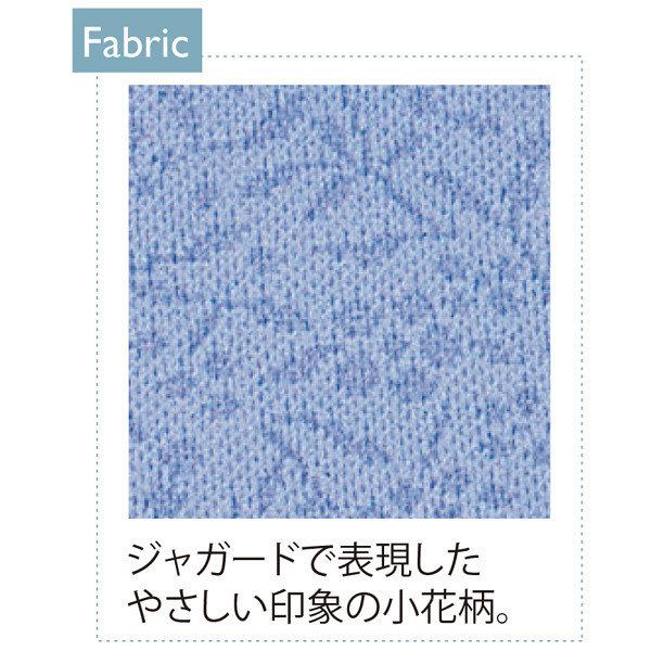 トンボ キラク 前開きニットシャツ インクブルー M CR813-76 1枚  (取寄品)