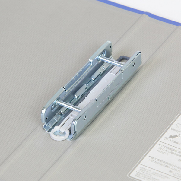 キングファイル スーパードッチ 脱着イージー A4タテ とじ厚30mm 青 10冊 キングジム 両開きパイプファイル 2473Aアオ