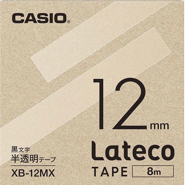 ラテコ 半透明テープ 12mm 1個