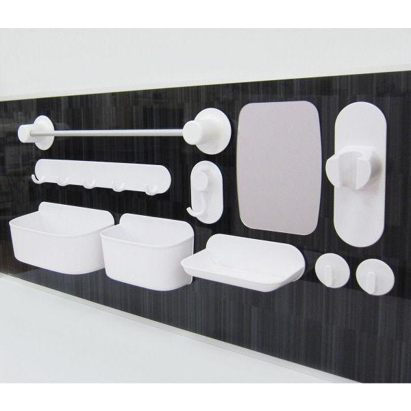 浴室壁面収納 マグネットタオルハンガー