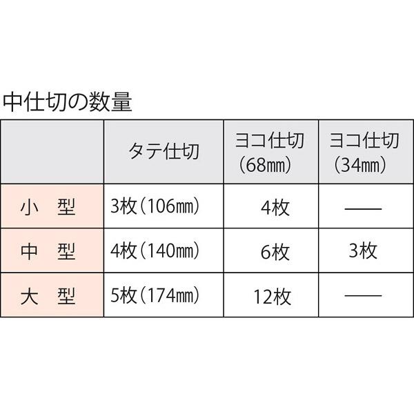 シャチハタ プラスチック印箱 中型 IBN-02