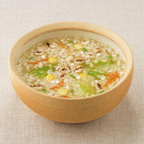 玄米と5種の穀物スープ 鶏だししお味1袋