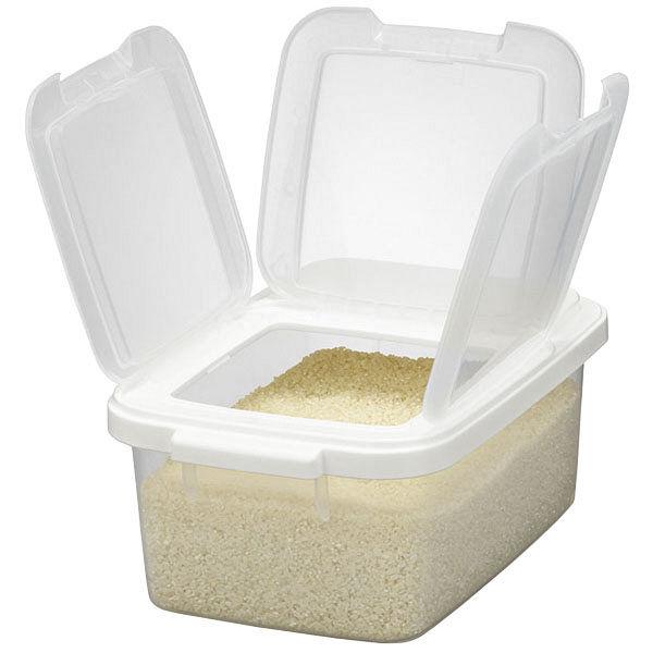 引き出し用米びつ 5kg 白