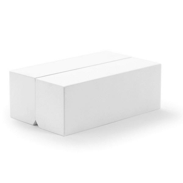 ハコ ホワイト ティッシュボックス