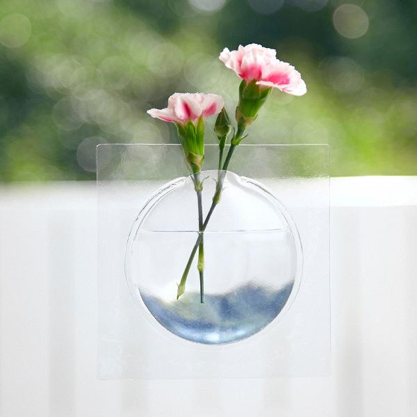 カキ クリアー 花瓶