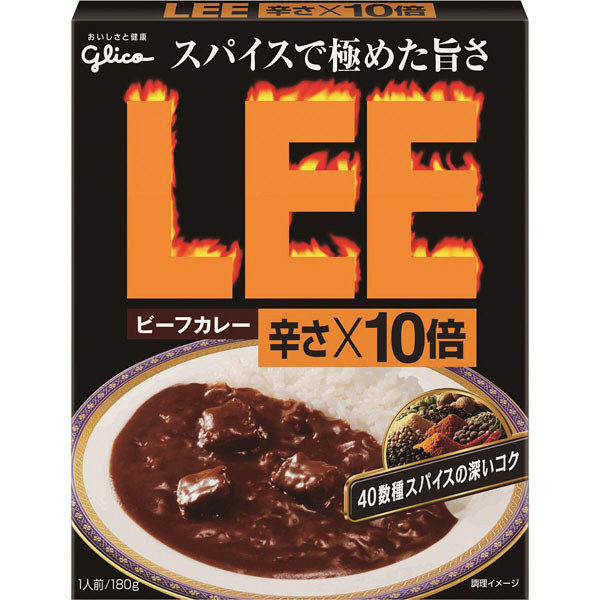 LEE 辛さX10倍 3種アソートセット