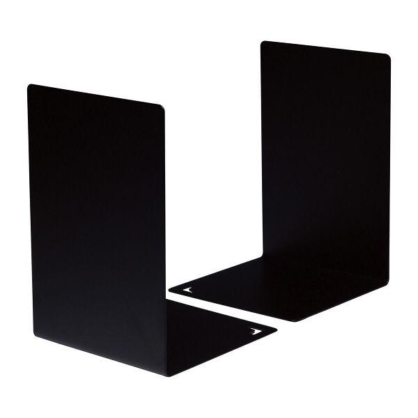 ブックエンド L型 黒 2個