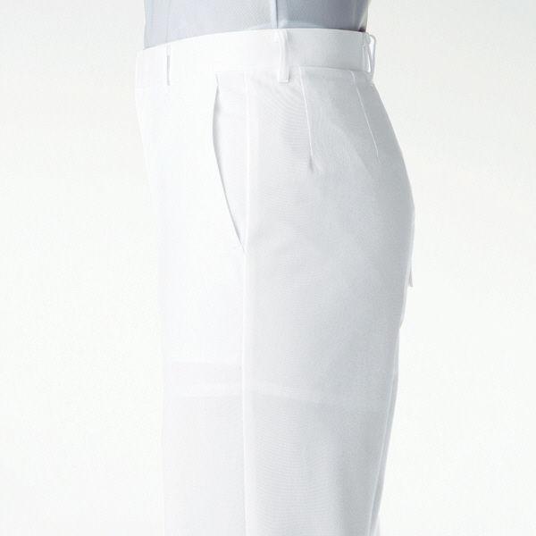 KAZEN スニーカー(エア・マジックタイプ) ナースシューズ 21.5cm ホワイト MX126 1足(直送品)