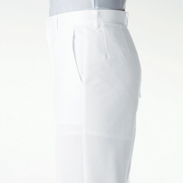 KAZEN スニーカー(エア・ヒモタイプ) ナースシューズ 25.5cm ホワイト MX135 1足(直送品)