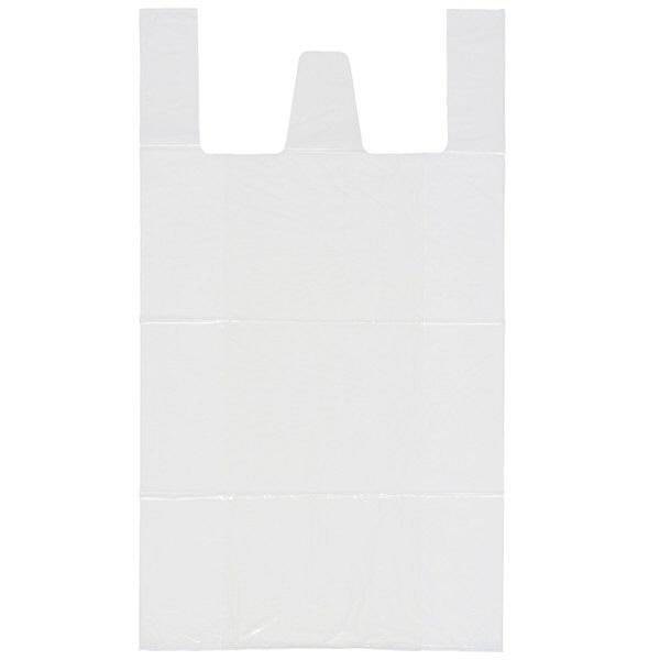 取っ手付きゴミ袋 乳白半透明 45L