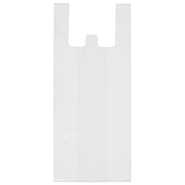 取っ手付きゴミ袋 乳白半透明 20L