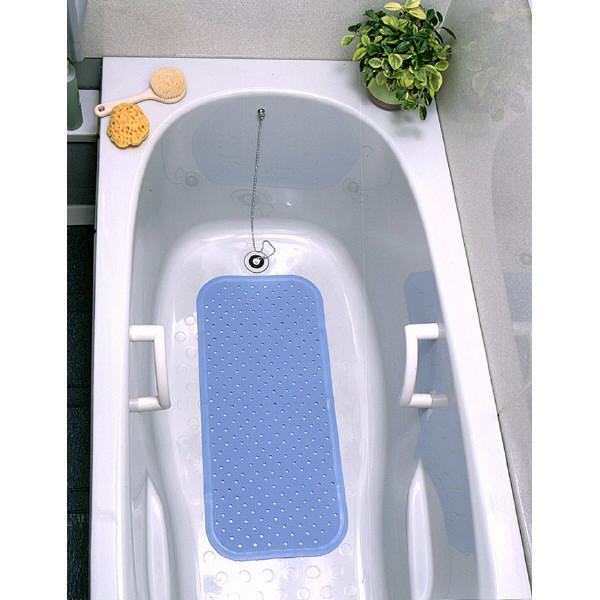 ワイズ スベリを防ぐ 浴そうマット ブルー BW21BL