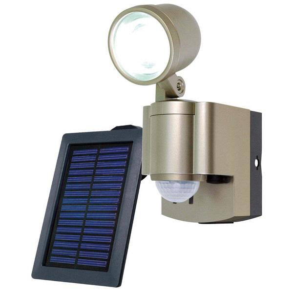 朝日電器 ソーラー3WLEDセンサーライト1灯 ESL-301SL (取寄品)
