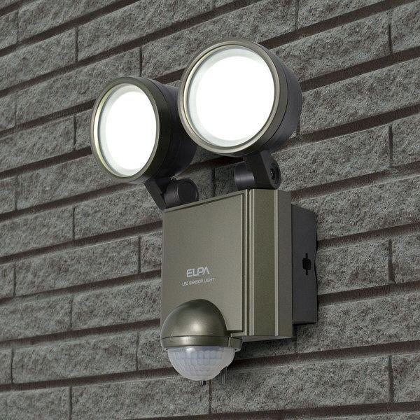 朝日電器 LEDセンサーライト ESL-602AC (取寄品)