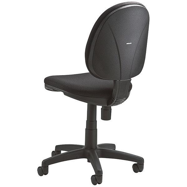 サンワサプライ ベーシックチェア2 オフィスチェア ファブリック ブラック SNC-T150BK 1脚