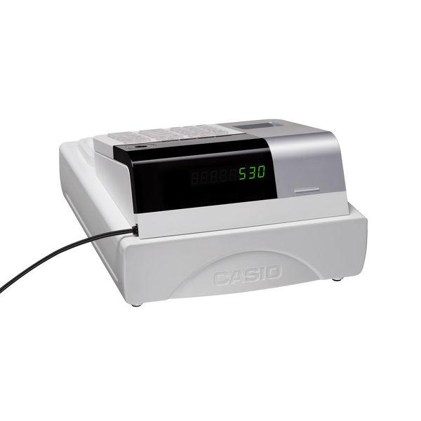 カシオ計算機 電子レジスター SES30 ホワイト SE-S30-WE