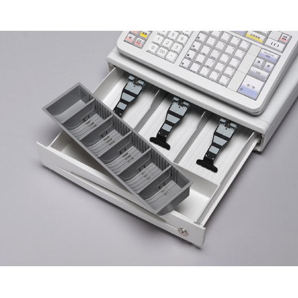 カシオ計算機 電子レジスター TE2800 ホワイト TE-2800-25S