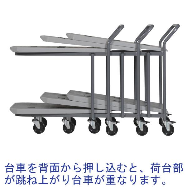 三甲 ネス台車 2段 1台 (直送品)