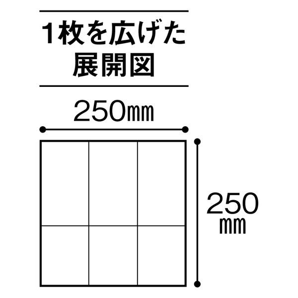 茶殻紙ナプキン 6つ折り 100枚