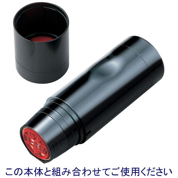 シャチハタ 日付印 データーネームEX15号 印面 赤井 アカイ