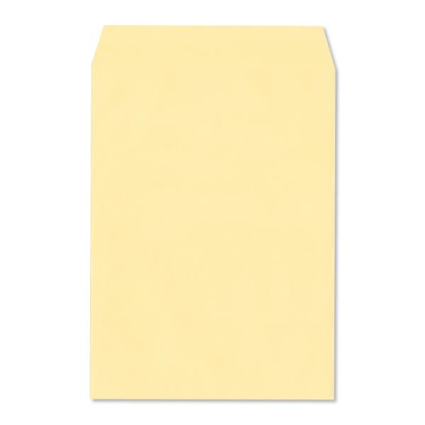 透けない封筒 角2 テープ付 黄100枚