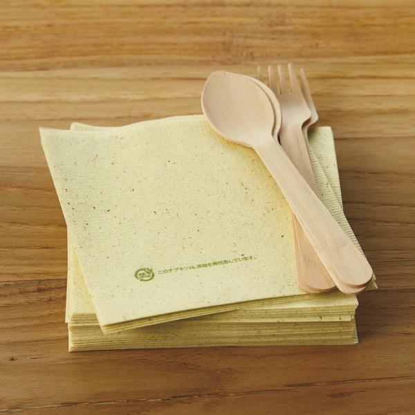 茶殻紙ナプキン 4つ折り 1000枚