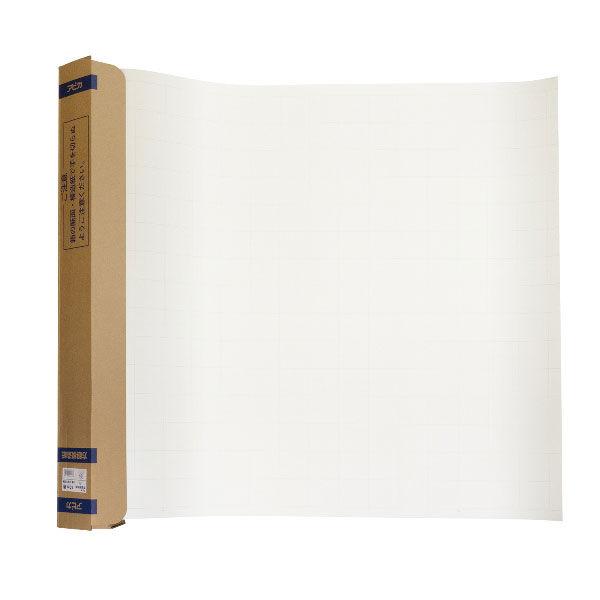 アピカ 方眼入模造紙 ロールタイプ(30m巻) 白 XR30W 3本