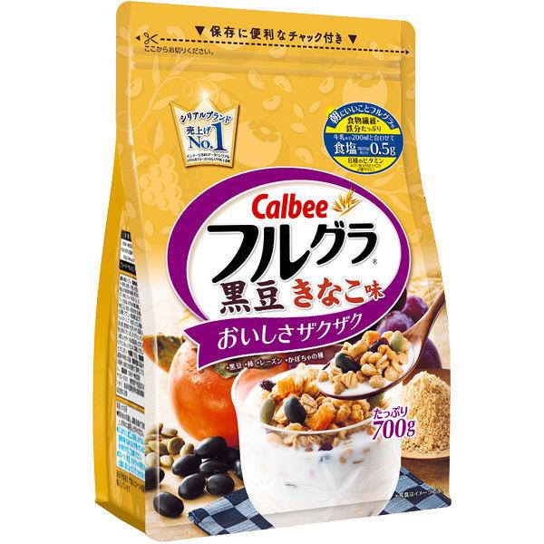 カルビーフルグラ黒豆きなこ味700g2袋