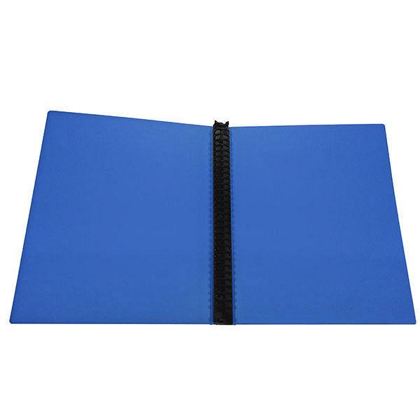 ビュートン リングファイルブック A4タテ 背幅25mm ブルー