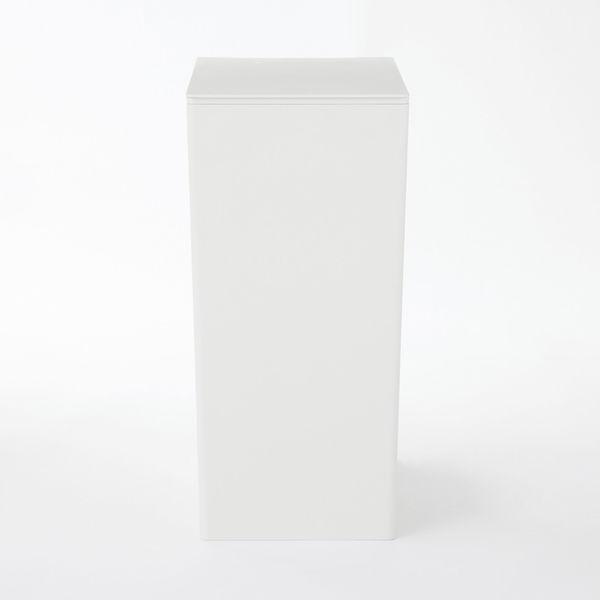 PPごみ箱・角型・袋止め付 大 約11L