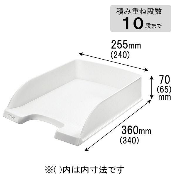 エセルテジャパン ライツ レタートレー スタンダード ホワイト A4 5227-10-01 1箱(6個入)