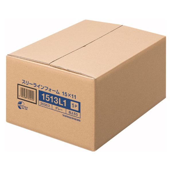 ストックフォーム(スリーライン) 11×15インチ-1P 1513L1 1箱(2000set) トッパンフォームズ (取寄品)