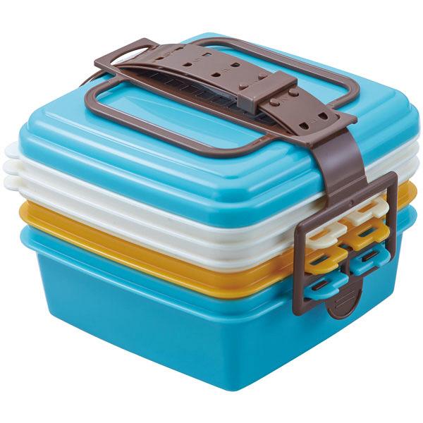 ピクニックランチボックス小ブルー