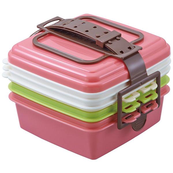 ピクニックランチボックス小ピンク
