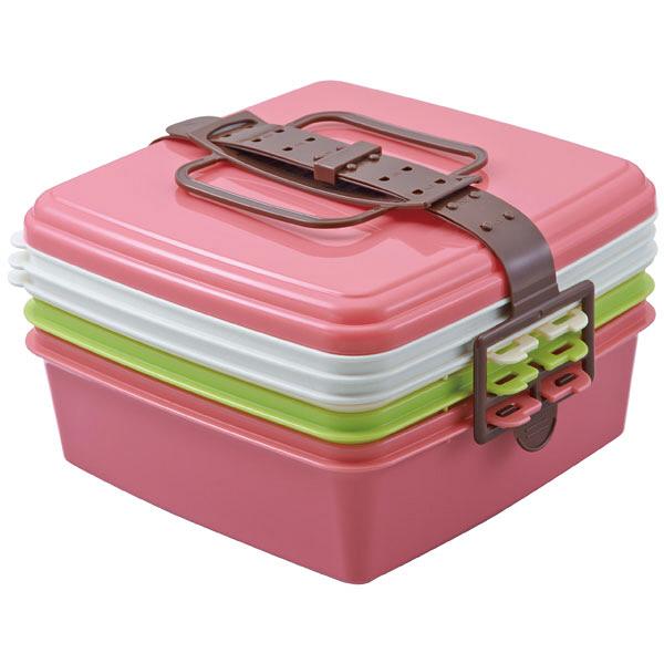 ピクニックランチボックス大ピンク