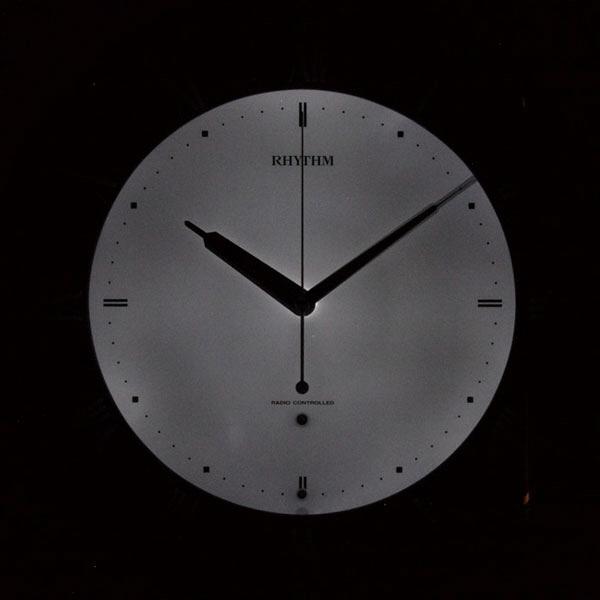 電波掛時計 リバライトRW497