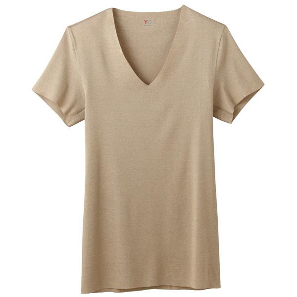 YG CUTOFF VネックTシャツ M