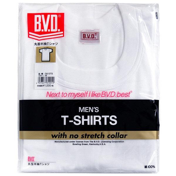 B.V.D. クルーネックTシャツ LL