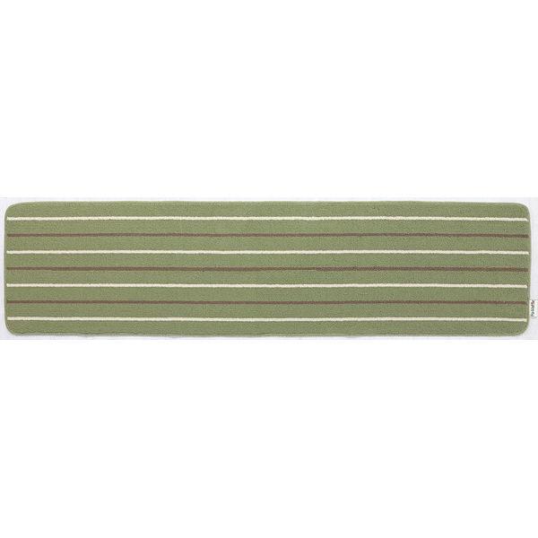 リーニエ キッチンマット 45×180緑