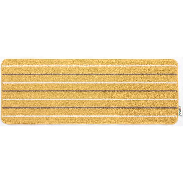 リーニエ キッチンマット 45×120黄